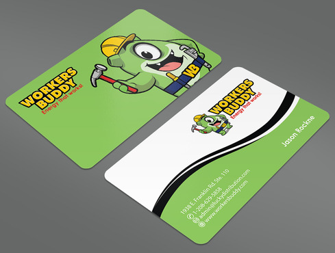 Workers Buddy Business Cards and Stationery  Draft # 40 by ArtworksKingdom