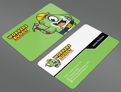 Workers Buddy Business Cards and Stationery  Draft # 41 by ArtworksKingdom