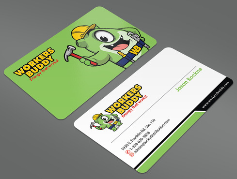 Workers Buddy Business Cards and Stationery  Draft # 42 by ArtworksKingdom