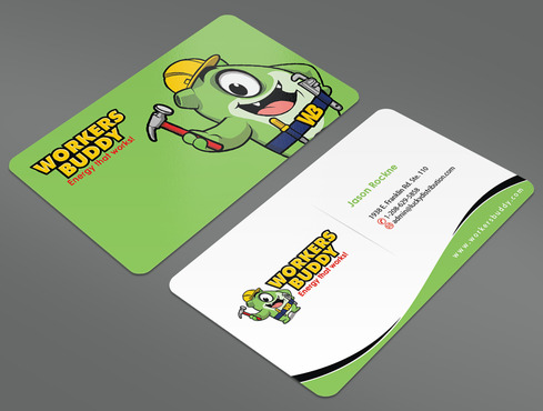 Workers Buddy Business Cards and Stationery  Draft # 43 by ArtworksKingdom