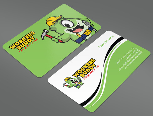 Workers Buddy Business Cards and Stationery  Draft # 44 by ArtworksKingdom