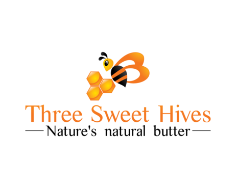 3 bee hives, a bee and or honey comb A Logo, Monogram, or Icon  Draft # 9 by BeUnique