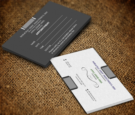 Dr. Anna Sidor & Dr. Norachai Phisuthikul Business Cards and Stationery  Draft # 46 by OSSDesign