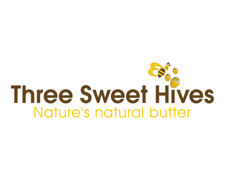3 bee hives, a bee and or honey comb A Logo, Monogram, or Icon  Draft # 14 by BeUnique