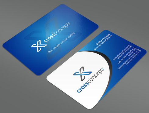 CrossConcept, Inc. Business Cards and Stationery  Draft # 26 by ArtworksKingdom