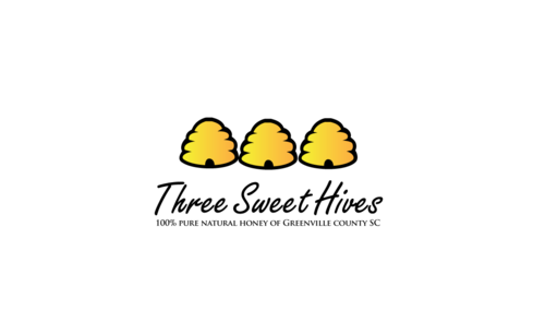3 bee hives, a bee and or honey comb A Logo, Monogram, or Icon  Draft # 45 by JoseLuiz