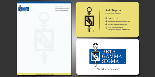 Beta Gamma Sigma Business Cards and Stationery  Draft # 121 by rasix