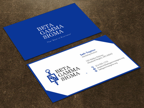 Beta Gamma Sigma Business Cards and Stationery  Draft # 127 by Xpert