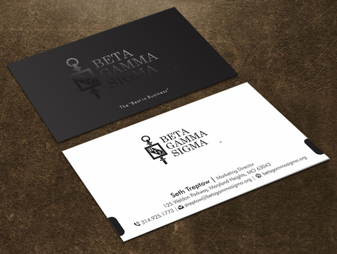 Beta Gamma Sigma Business Cards and Stationery  Draft # 131 by Xpert