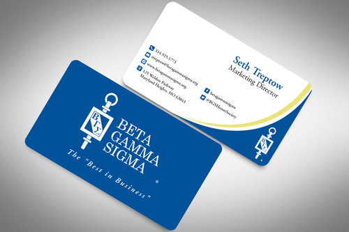 Beta Gamma Sigma Business Cards and Stationery  Draft # 146 by rasix