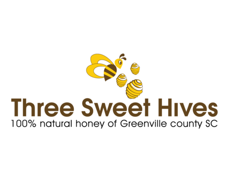 3 bee hives, a bee and or honey comb A Logo, Monogram, or Icon  Draft # 58 by BeUnique