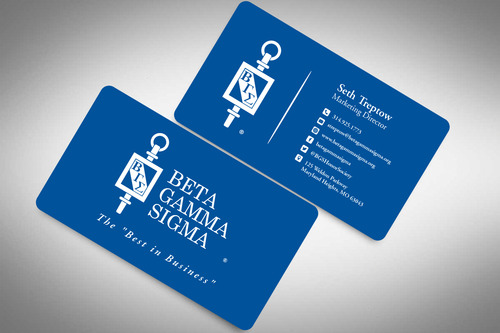 Beta Gamma Sigma Business Cards and Stationery  Draft # 152 by rasix