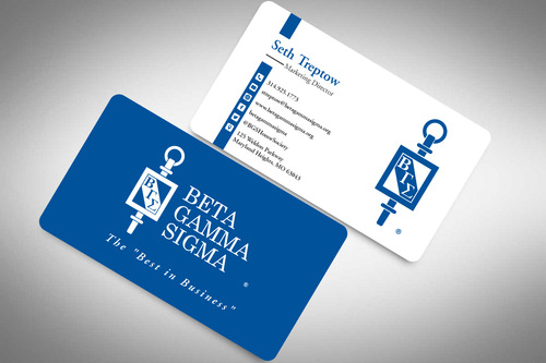 Beta Gamma Sigma Business Cards and Stationery  Draft # 153 by rasix