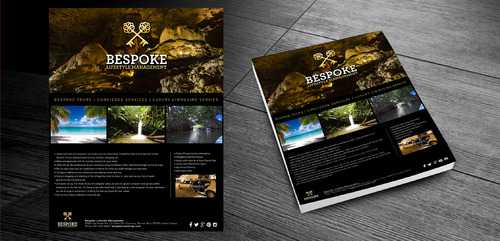 Bespoke Tours * Concierge Services * Luxury Limousine Service Marketing collateral  Draft # 7 by lyndel