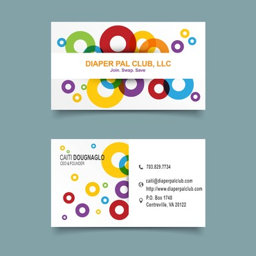 Diaper Pal Club, LLC Business Cards and Stationery  Draft # 1 by Free13