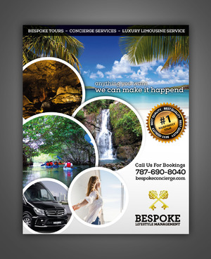 Bespoke Tours * Concierge Services * Luxury Limousine Service Marketing collateral  Draft # 10 by pivotal