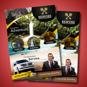 Bespoke Tours * Concierge Services * Luxury Limousine Service Marketing collateral  Draft # 16 by Kaiza