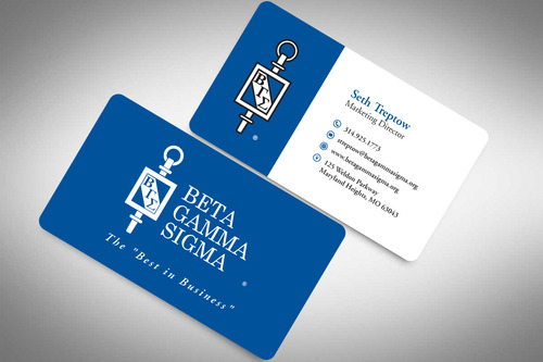 Beta Gamma Sigma Business Cards and Stationery  Draft # 199 by rasix