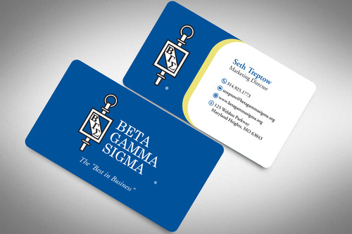 Beta Gamma Sigma Business Cards and Stationery  Draft # 200 by rasix