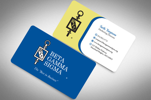 Beta Gamma Sigma Business Cards and Stationery  Draft # 201 by rasix