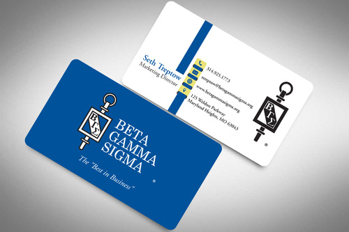 Beta Gamma Sigma Business Cards and Stationery  Draft # 202 by rasix
