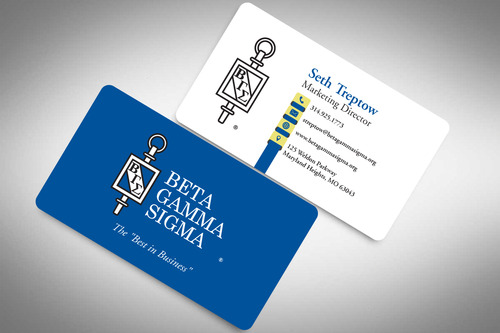 Beta Gamma Sigma Business Cards and Stationery  Draft # 203 by rasix