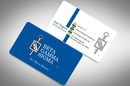 Beta Gamma Sigma Business Cards and Stationery  Draft # 204 by rasix