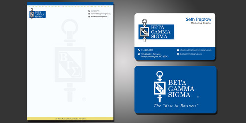 Beta Gamma Sigma Business Cards and Stationery  Draft # 209 by rasix