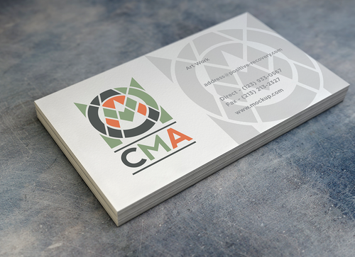 CMA A Logo, Monogram, or Icon  Draft # 287 by MarcuSod