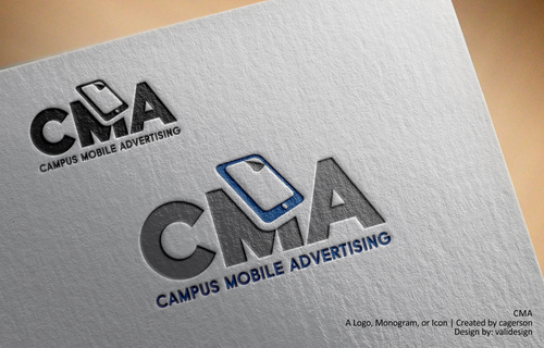 CMA A Logo, Monogram, or Icon  Draft # 331 by validesign