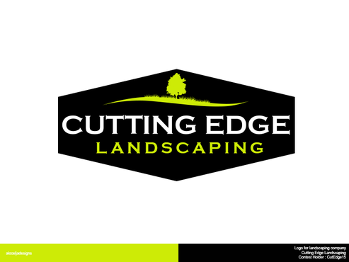Logo For Landscaping Company By Cutedge15