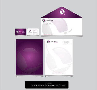 Diomedea Capital Advisors Ltd Business Cards and Stationery  Draft # 229 by rongdhonugraphics