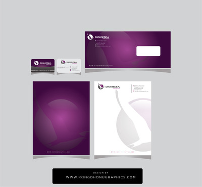 Diomedea Capital Advisors Ltd Business Cards and Stationery  Draft # 243 by rongdhonugraphics