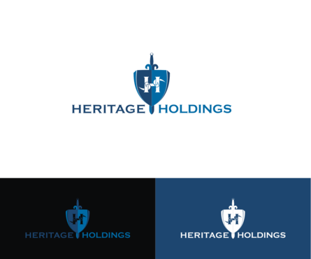 Heritage Holdings A Logo, Monogram, or Icon  Draft # 28 by simpleway