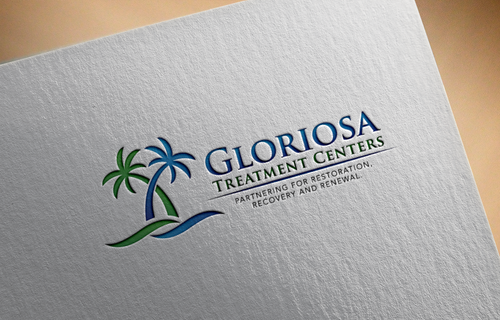Gloriosa Treatment Centers Logo Winning Design by LogoSmith2
