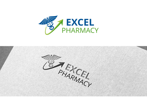 Excel Pharmacy A Logo, Monogram, or Icon  Draft # 320 by raymore
