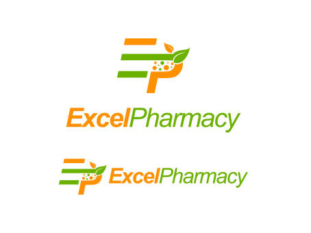Excel Pharmacy A Logo, Monogram, or Icon  Draft # 344 by falconisty