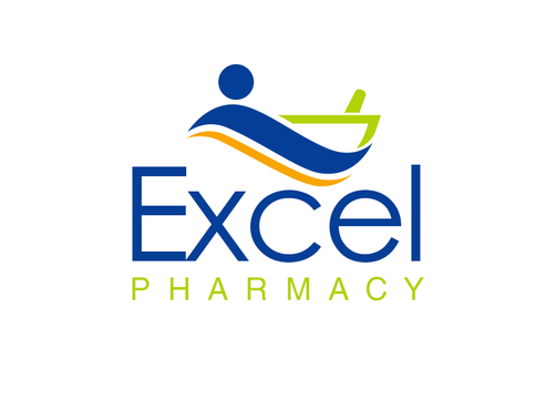 Excel Pharmacy A Logo, Monogram, or Icon  Draft # 397 by alocelja
