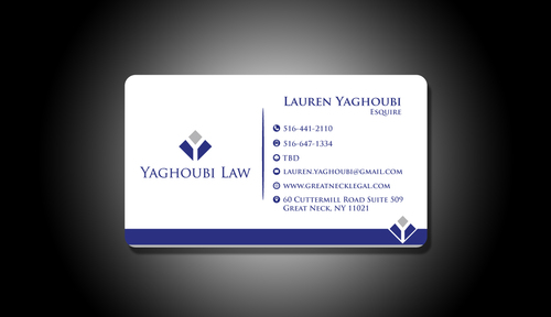 Yaghoubi Law  Business Cards and Stationery  Draft # 202 by rasix
