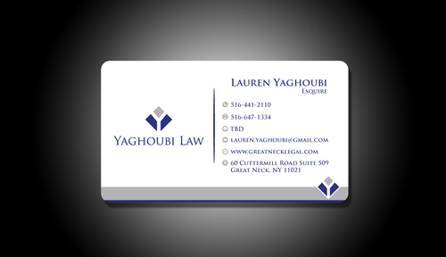 Yaghoubi Law  Business Cards and Stationery  Draft # 204 by rasix