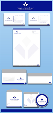 Yaghoubi Law  Business Cards and Stationery  Draft # 205 by rasix