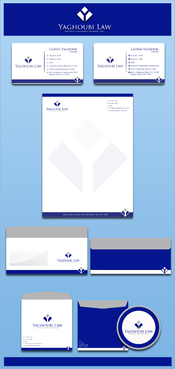 Yaghoubi Law  Business Cards and Stationery  Draft # 206 by rasix