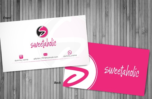Sweetaholic Business Cards and Stationery  Draft # 1 by sevensky