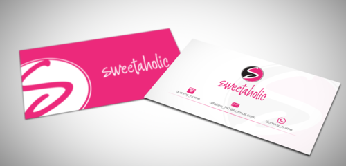 Sweetaholic Business Cards and Stationery  Draft # 2 by sevensky