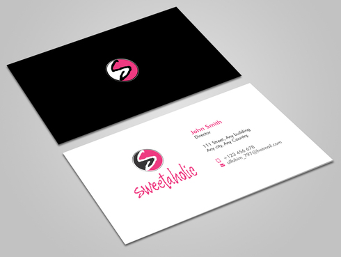 Sweetaholic Business Cards and Stationery  Draft # 9 by Xpert