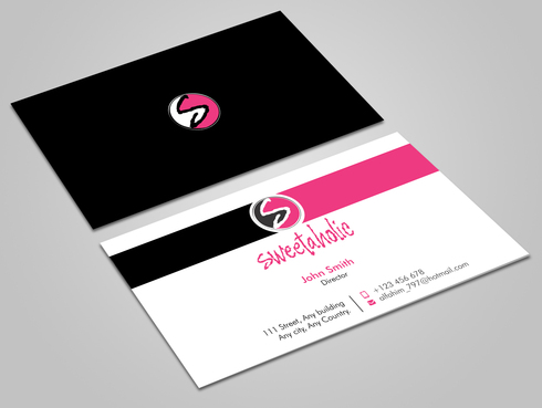 Sweetaholic Business Cards and Stationery  Draft # 10 by Xpert