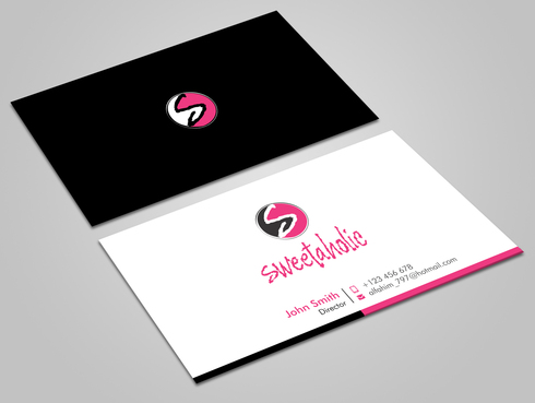 Sweetaholic Business Cards and Stationery  Draft # 11 by Xpert