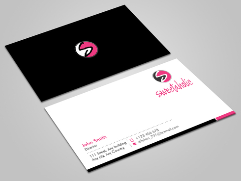 Sweetaholic Business Cards and Stationery  Draft # 12 by Xpert