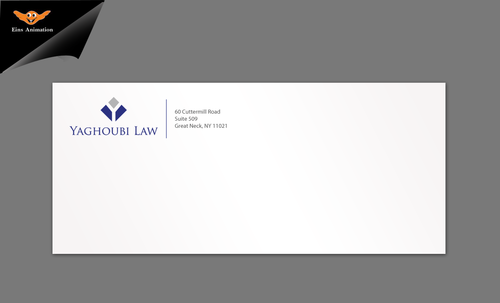 Yaghoubi Law  Business Cards and Stationery  Draft # 278 by einsanimation