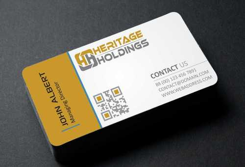 Heritage Holdings Business Cards and Stationery  Draft # 298 by Xxtreme